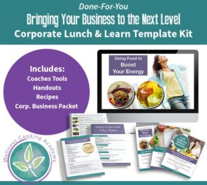 DFY cooking classes in corporate