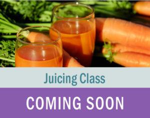 Juicing Class