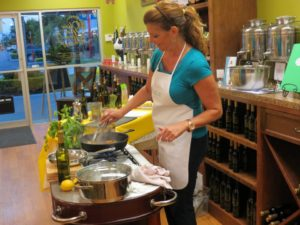 teaching cooking classes