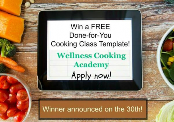 DFY Cooking Class Giveaway